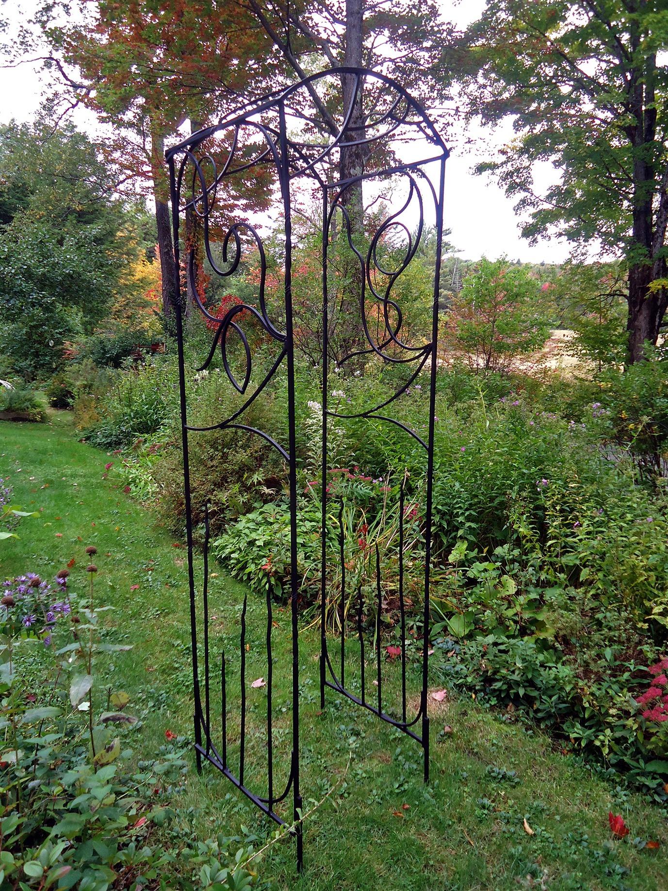 Blacksmith Made Garden Trellis