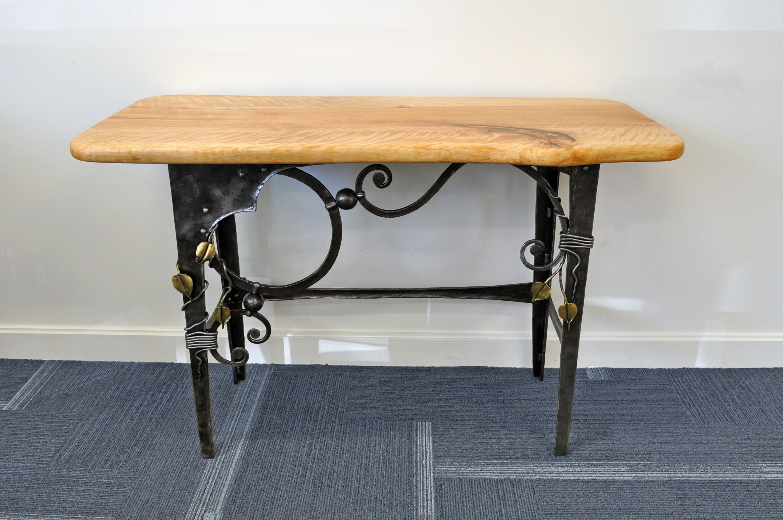 Eric Dennis Holzapfel Traditional Ironwork Table