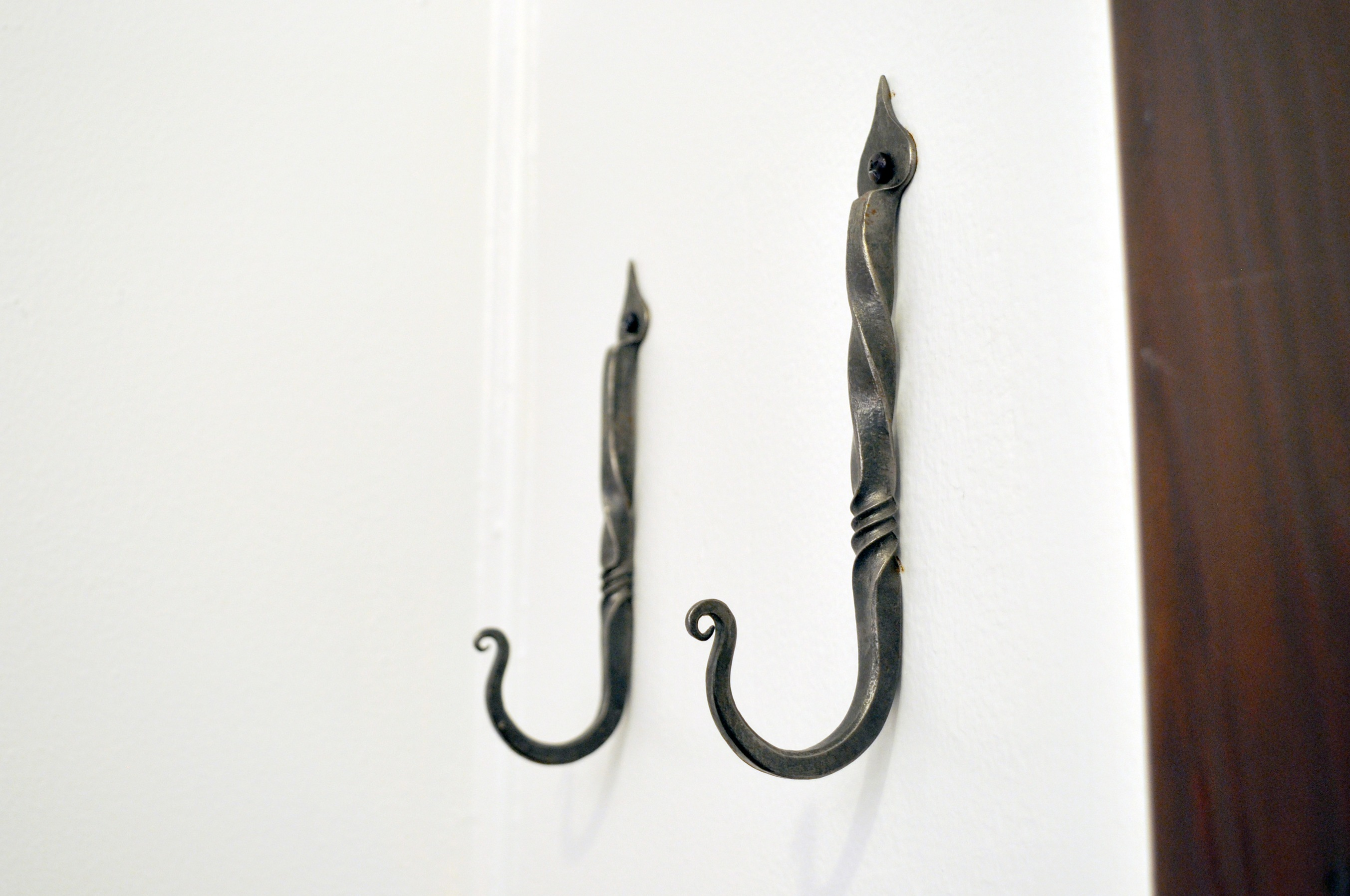 Forged Iron Wall Hooks