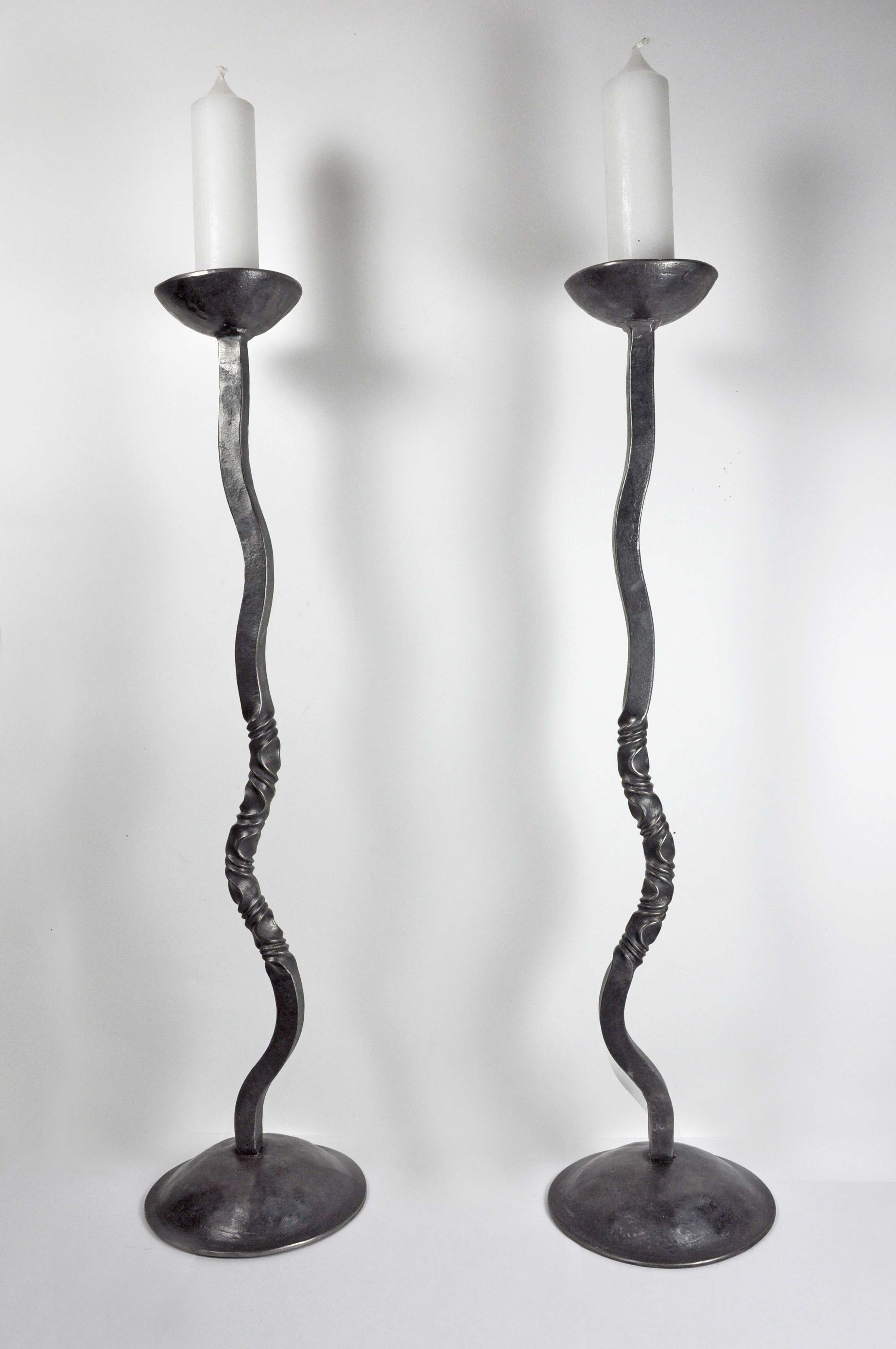 Hand Forged Candle Stick Holder