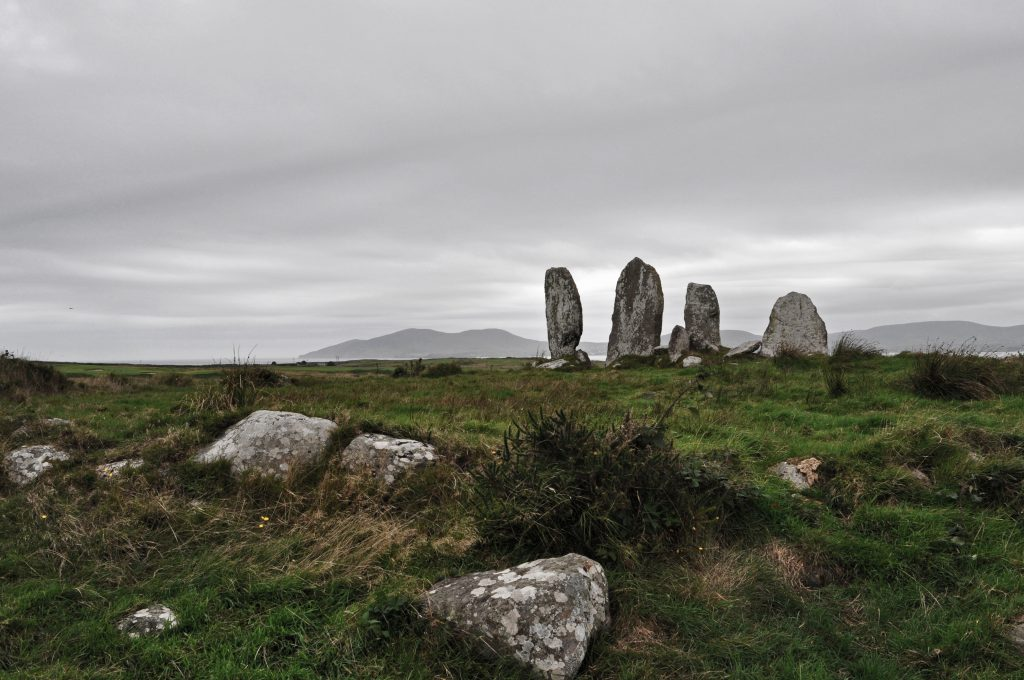 Stone circle county kerry ireland