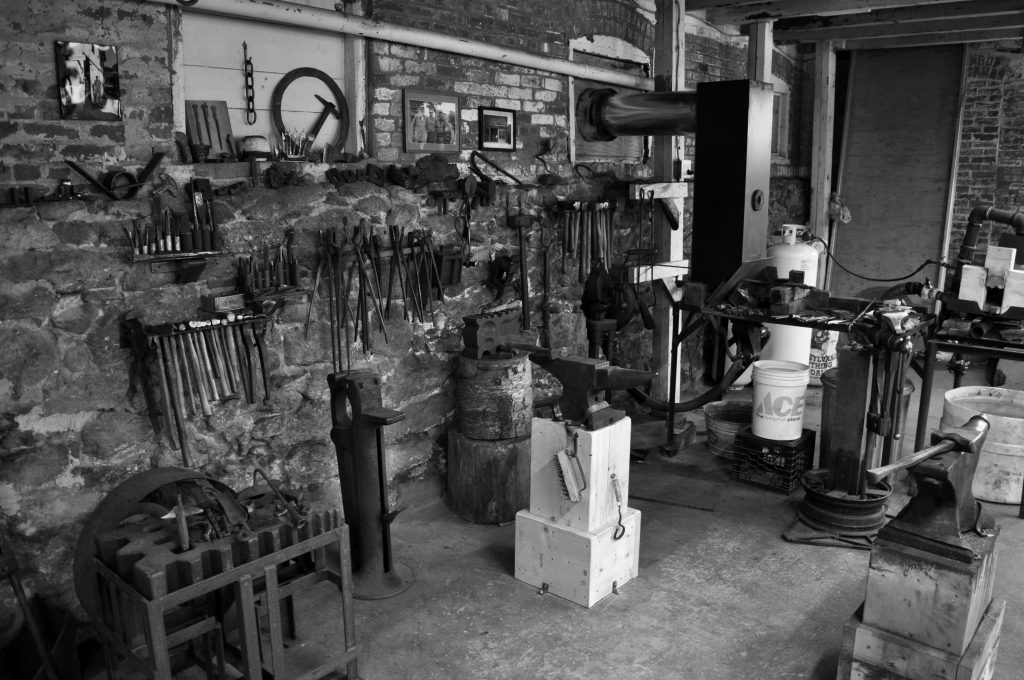 Eric Dennis Greenfield Ma Blacksmith Shop Custom Ironwork