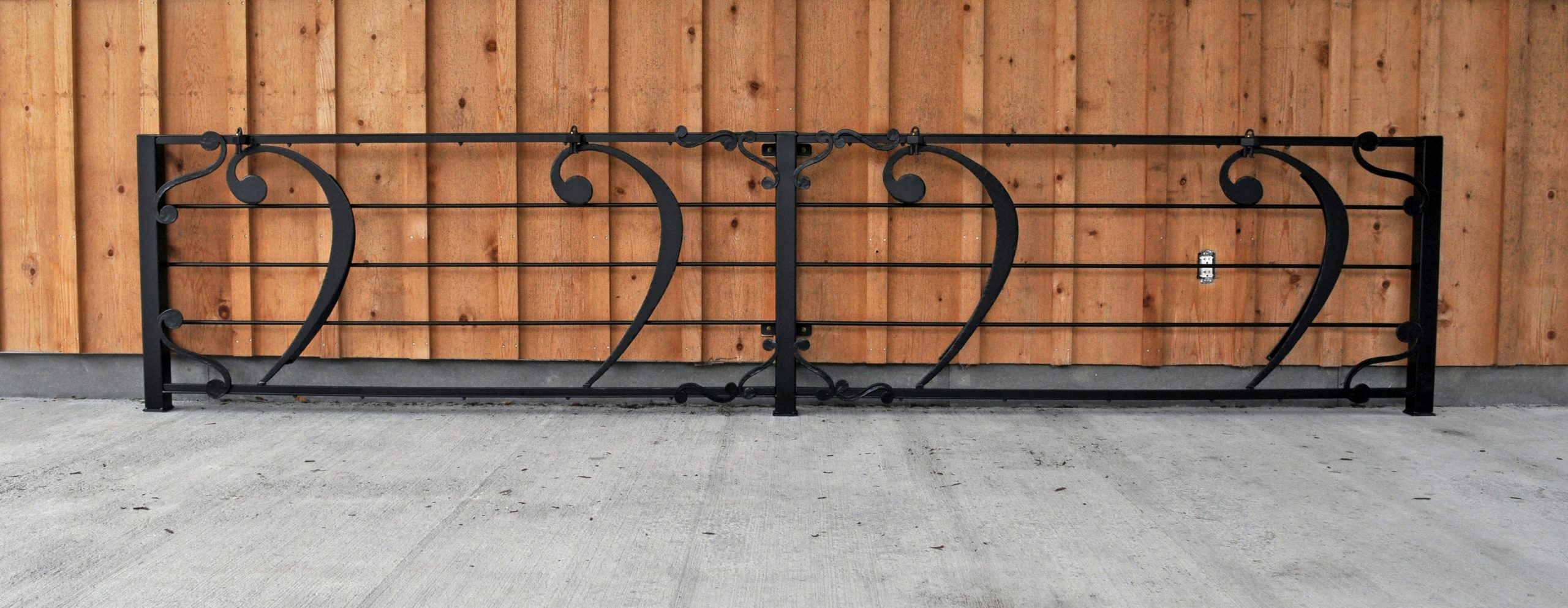 Fabricated Decorative Bike Rack