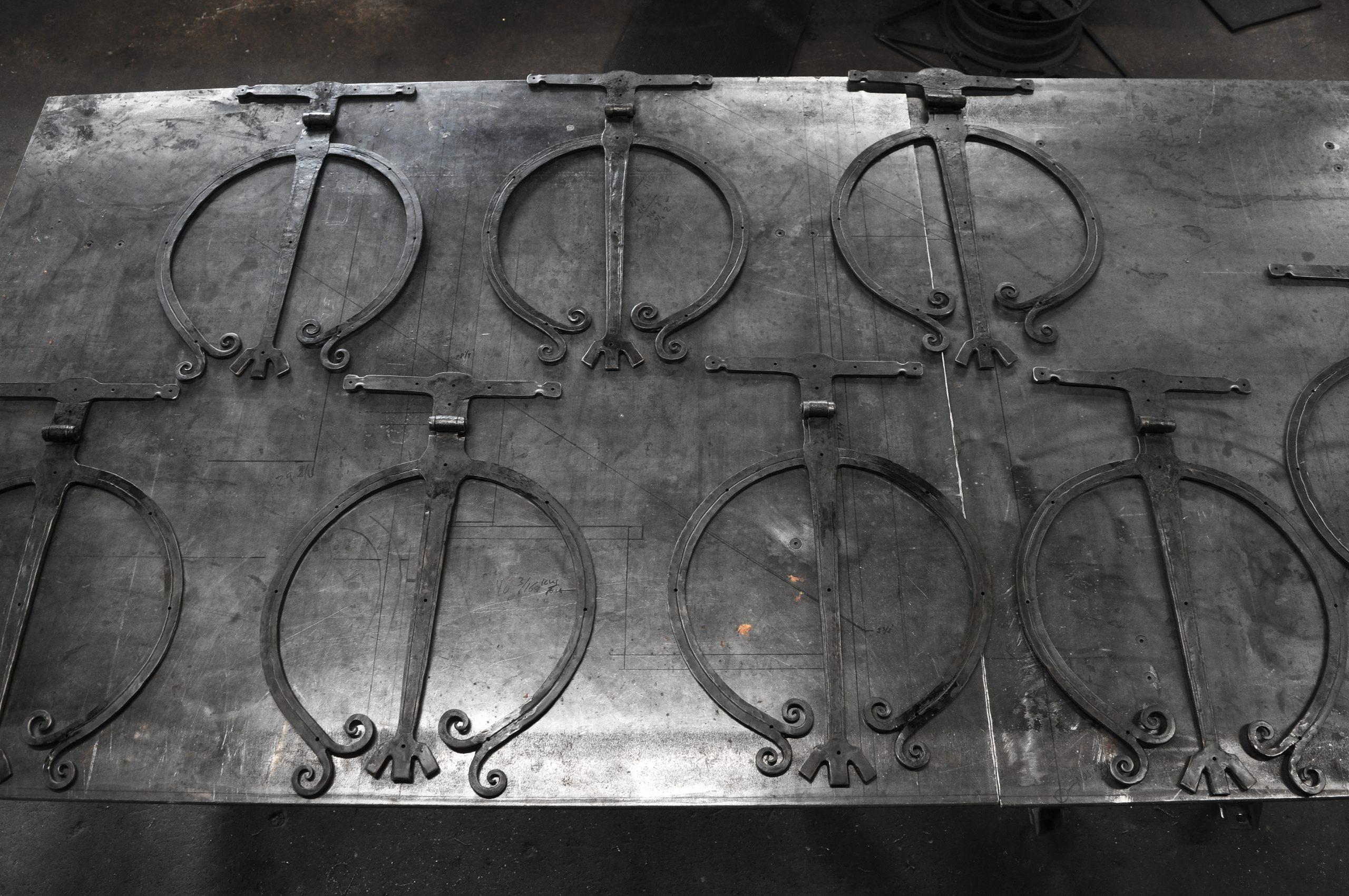 Large Medieval Strap Hinge